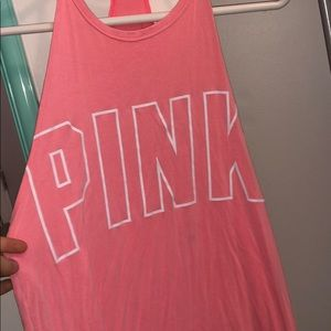 Only worn once PINK tank.